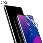 2 PCS Baseus 0.15mm Full Screen Curved Edge Anti-explosion Soft Film for Galaxy S10 Plus(Black)