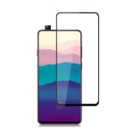 mocolo 0.33mm 9H 2.5D Full Glue Tempered Glass Film for Galaxy A90 (Black)