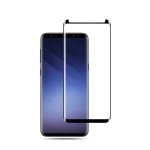 mocolo 0.33mm 9H 3D Full Glue Curved Tempered Glass Film for Galaxy S9+ (Black)