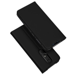 DUX DUCIS Skin Pro Series Horizontal Flip PU + TPU Leather Case for Nokia 4.2, with Holder & Card Slots (Black)