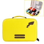 Nintendo Switch Game Machine Dropproof PU Storage Protection Bag with Detachable Lanyard, Large Size: 26.5 x 5.5 x 23cm