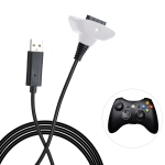 XBOX360 1.5m Wireless Controller Charging Cable with Magnetic for XBOX360 (White)