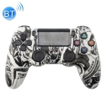 Beauty Pattern Wireless Bluetooth Game Handle Controller for PS4