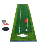 PGM Golf Four Colors Putting Mat Push Rod Trainer, Size: 50x300cm (Green)