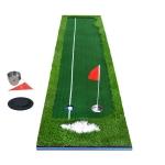 PGM Golf Four Colors Putting Mat Push Rod Trainer, Size: 75x300cm (Green)