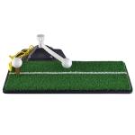 PGM Golf PP Grass Putting Mat Push Rod Trainer, Size: 48x23cm(Black)