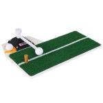 PGM Golf PP Grass Putting Mat Push Rod Trainer, Size: 48x23cm (White)