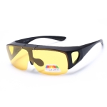 Men Short-sighted Sunglasses Polarized Driving Night Vision Glasses, with Turn-up Dual-purpose Function