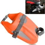 Outdoor Waterproof Multi-functional PVC Bag Tool Bag for Bicycle (Orange)