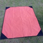 Portable Outdoor Waterproof Moisture-proof Camping Mat Foldable Lawn Mat, Size: 140 x 180cm (Orange)