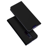 DUX DUCIS Skin Pro Series Horizontal Flip PU + TPU Leather Case for OPPO F11 Pro, with Holder & Card Slots (Black)