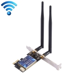 EDUP EP-9620 2 in 1 AC1200Mbps 2.4GHz & 5.8GHz Dual Band PCI-E 2 Antenna WiFi Adapter External Network Card + Bluetooth