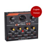 V9 Live Broadcasting Equipment Webcast Entertainment Streamer Sound Card