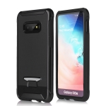 TPU + PC Granule Texture Protective Back Cover Case for Galaxy S10e (Black)