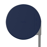 Xiaomi VH Ji 5W QI Wireless Charger for Wireless Charging Standard Mobile Phones, Length: 1m(Blue)