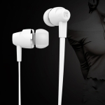 Langsdom In-Ear Noodle Line Headphones (White)