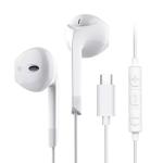 Langsdom Type-c Headphones(White)