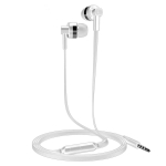 Langsdom In-Ear Round Wire Headphones (White)