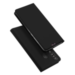 DUX DUCIS Skin Pro Series Horizontal Flip PU + TPU Leather Case for Galaxy M30, with Holder & Card Slots (Black)