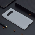 Candy Color TPU Case for Samsung Galaxy S10(White)