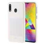 MERCURY GOOSPERY PEARL JELLY TPU Anti-fall and Scratch Case for Galaxy M20 (White)