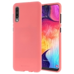 MERCURY GOOSPERY SOFT FEELING Liquid TPU Drop-proof Soft Case for Galaxy A50 (Pink)