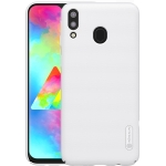 NILLKIN Frosted Concave-convex Texture PC Case for Galaxy M20 (White)