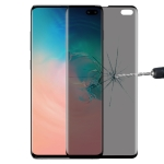 9H 3D Curved Anti-glare Full Screen Tempered Glass Film for Galaxy S10 Plus