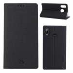 ViLi DMX Multifunctional Horizontal Flip Leather Case for Galaxy A6s, with Card Slot & Holder (Black)