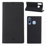 ViLi DMX Multifunctional Horizontal Flip Leather Case for Galaxy A8s / A9 Pro(2019), with Card Slot & Holder(Black)