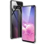 ESR Mimic TPU Frame + Glass Case for Galaxy S10e (Transparent)