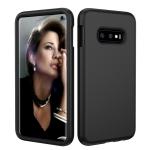 Solid Color TPU + PC Protevtive Case for Galaxy S10 E (Black)