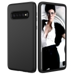 Solid Color TPU + PC Protevtive Case for Galaxy S10 (Black)