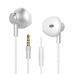 Langston M420 Metal In-Ear Wired Earphone (White)