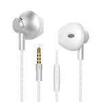 Langston M420 Metal In-Ear Wired Earphone (White)