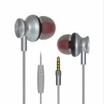 Langston M430 Metal In-Ear Wired Earphone (Black)