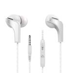 Langston R29 Fashion Design In-Ear Wired Earphone (White)