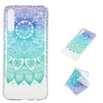 Datura Bell Pattern Highly Transparent TPU Protective Case for Galaxy A70