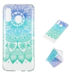 Datura Bell Pattern Highly Transparent TPU Protective Case for Galaxy A40