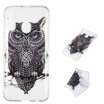 Owl Pattern Highly Transparent TPU Protective Case for Galaxy A40