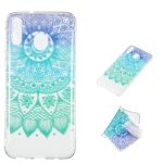 Datura Bell Pattern Highly Transparent TPU Protective Case for Galaxy M20