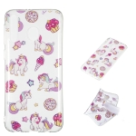 Unicorn Pattern Highly Transparent TPU Protective Case for Galaxy M30