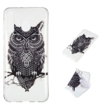 Owl Pattern Highly Transparent TPU Protective Case for Galaxy M30