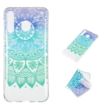Datura Bell Pattern Highly Transparent TPU Protective Case for Galaxy M30