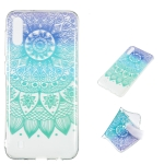 Datura Bell Pattern Highly Transparent TPU Protective Case for Galaxy M10