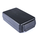 Portable Dustproof Bluetooth Headset Wire Storage Box(Black)