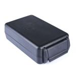 Portable Dustproof Bluetooth Headset Wire Storage Box(Black)