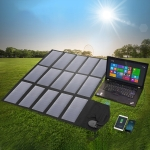 ALLPOWERS Portable Solar Panel Charger 100W 18V Foldable Solar Panel Solar Battery Charger