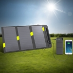 ALLPOWERS 20W 5V Solar Phone Charger Dual USB Output Portable Solar Panel