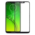 Front Screen Outer Glass Lens for Motorola Moto G7 Power(Black)